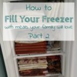 Freezer Meal Planning – Tips for Success
