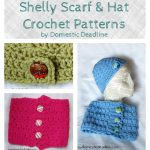 Shelly Scarf and Hat Crochet Pattern