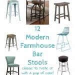 Modern Farmhouse Bar Stools